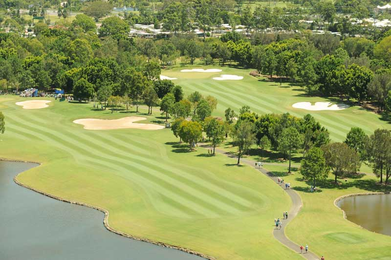 RACV Royal Pines Resort 1st & 18th Holes